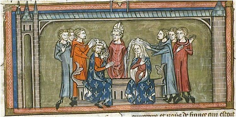 Louis VIII coronation