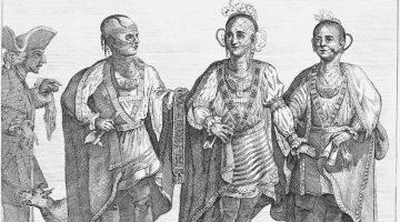 Cherokee Chieftains at the British Court