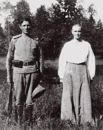 Maria & guard 1917