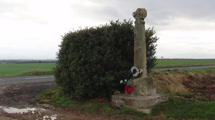 Cross at Towton battlefield