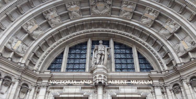 V&A arch