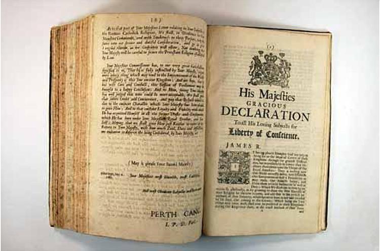 Declaration of Indulgence, 1687