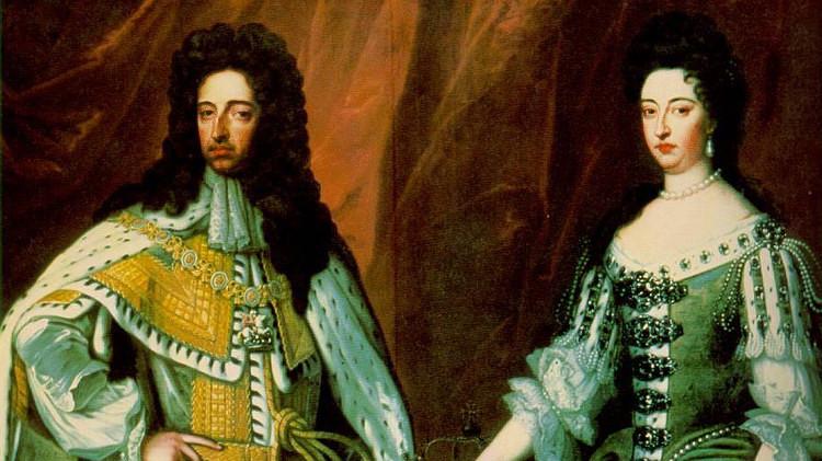 William of Orange and Mary