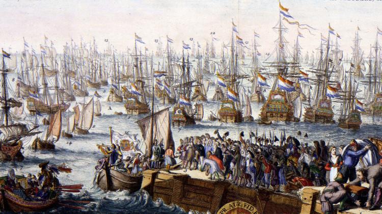 William of Orange's invasion fleet embarks