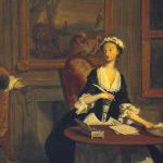 Woman writing: Pamela