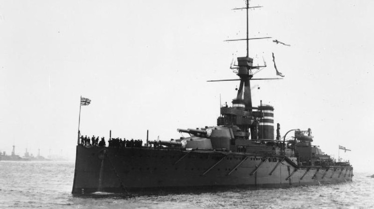 HMS Thunderer, 1912