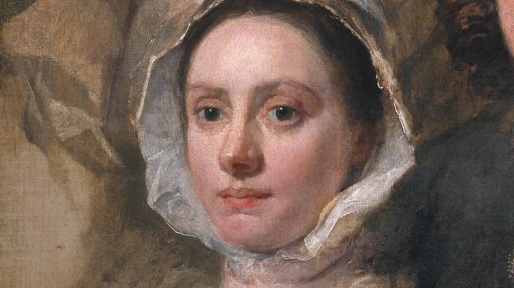 Part of William Hogarth's portrait of his servants