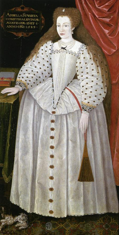 Arbella Stuart, aged 13