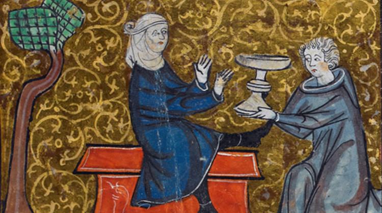 Vilenie from Roman de la Rose