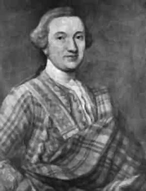 Alexander MacDonald of Keppoch, posthumous portrait c1765