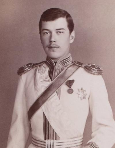 Tsarevich Nicholas Alexandrovich of Russia, 1880s