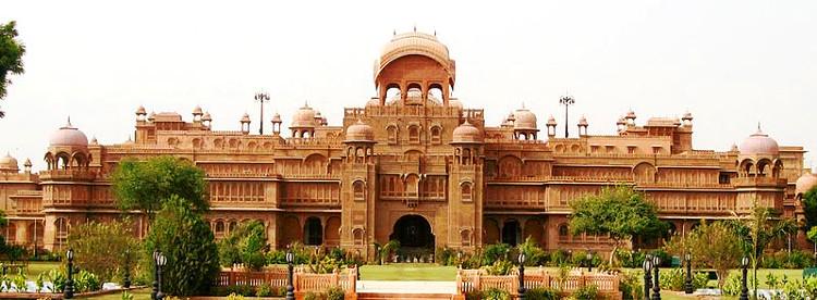 The Lalgarh Palace, built for Ganga Singh