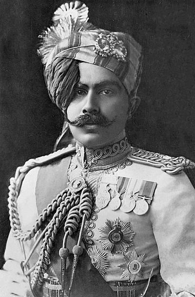 The Maharajah Ganga Singh of Bikaner by Carl Vandyk (c1930)