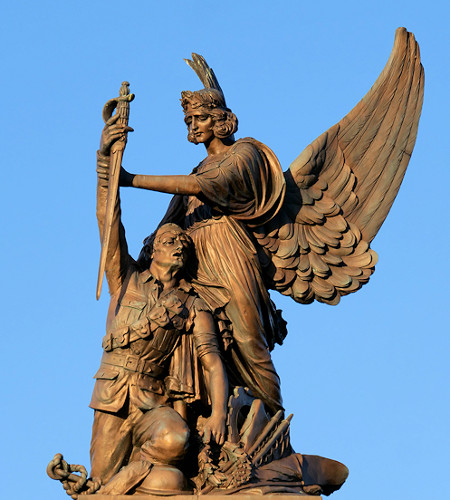 Soldier and Victory, Ashton-Under-Lyne War Memorial by David Dixon