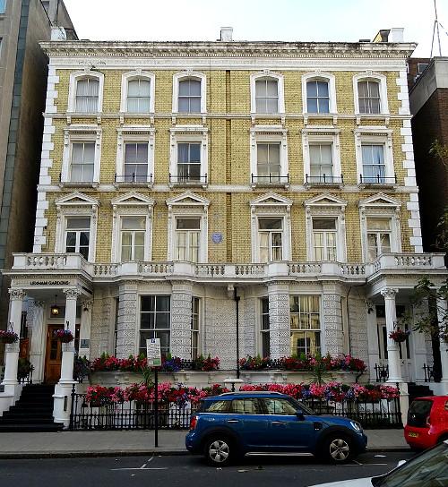 1 Lexham Gardens, Kensington, London, location of Krystyna's plaque