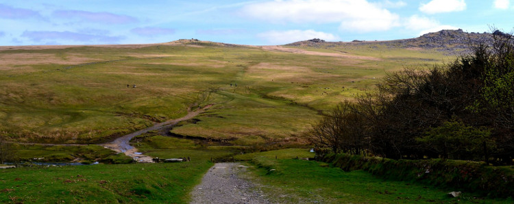 Bodmin Moor, Rough Tor panorama by Robert Pittman