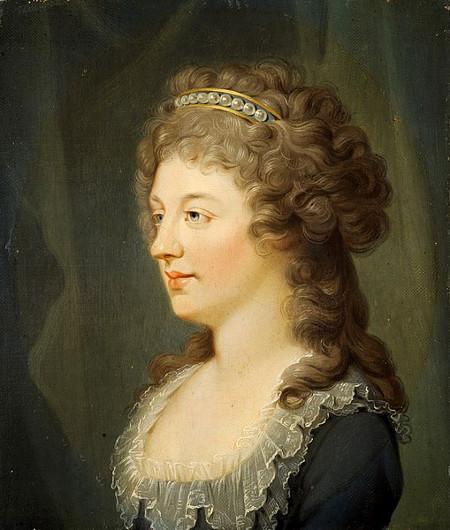 Charlotte Stuart, Duchess of Albany by Hugh Douglas Hamilton