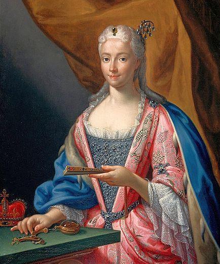 Maria Clementina Sobieska, 1719, by Francesco Trevisani