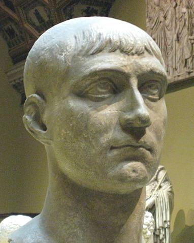 Bust of Maxentius, Pushkin Museum
