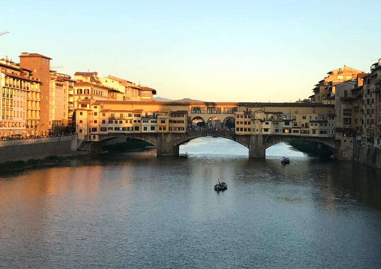 Ponte Vecchio, Florence, by DV Bishop
