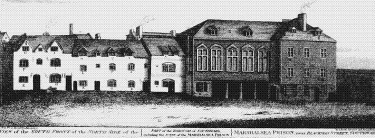 The Marshalsea Prison, 1773