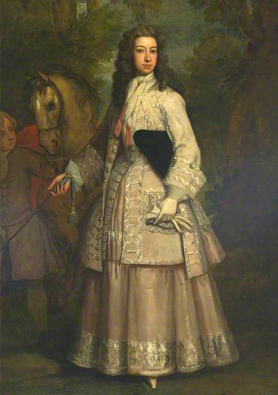 Frances Pierrepont, Countess of Mar by Godfrey Kneller, 1715