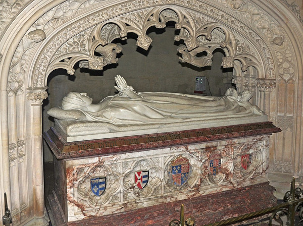 Katharine Parr's tomb in St Mary's Chapel, Sudeley Castle