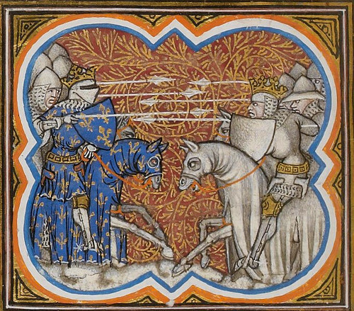 The Battle of Brémule, c1375-80