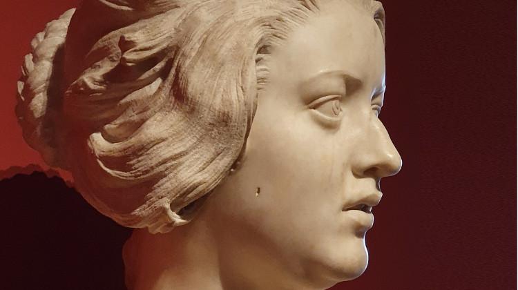 Bust of Costanza Bonarelli.by Bernini, Museo del Bargello