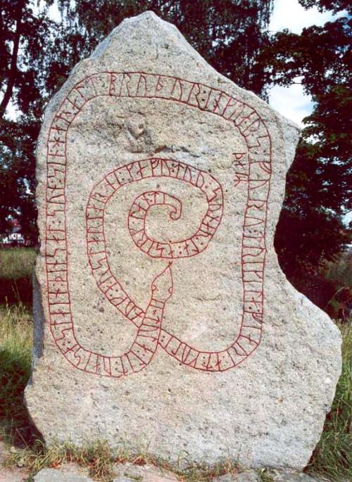 Runestone Sö 179 at Gripsholm