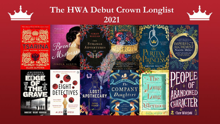 The HWA Debut Crown longlist 2021
