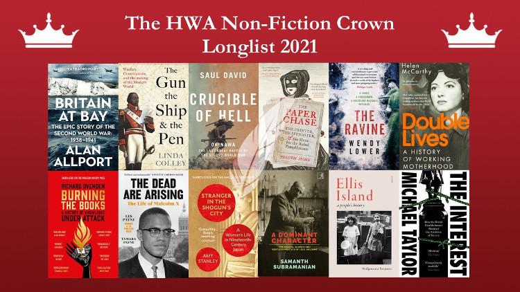 The HWA Non-fiction Crown longlist 2021