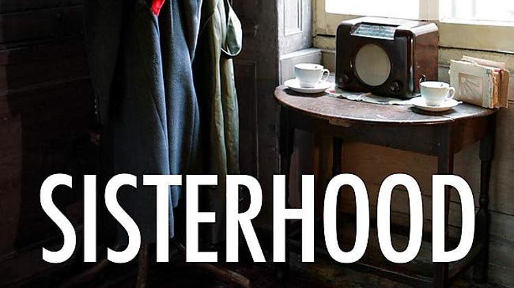 Detail of the cover of Sisterhood by VB Grey