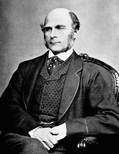 Photo of Sir Francis Galton