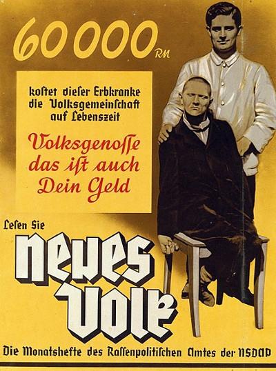 Neues Volk eugenics poster, c1937
