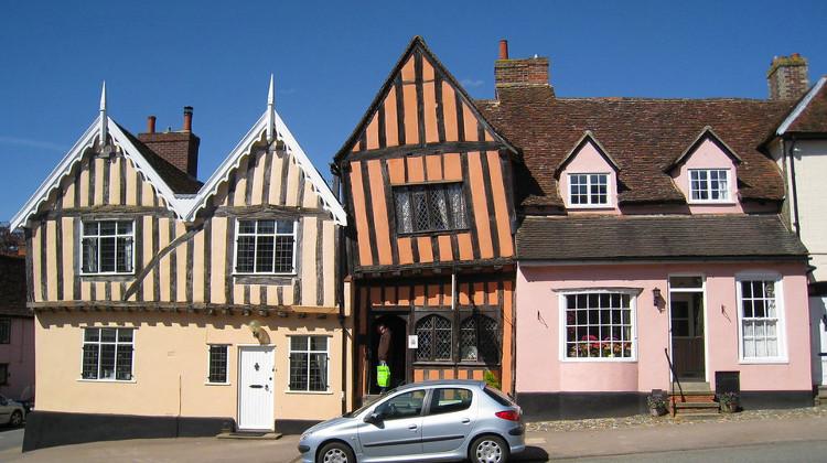 High Street, Lavenham, Suffolk: photo by Spencer Means via Flickr (CC BY-SA 2.0)